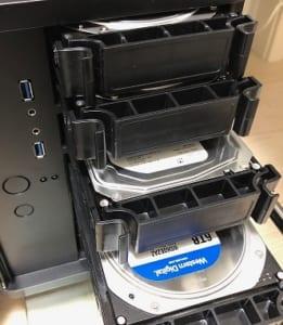 20TBのサーバーが容量キツくなってきたので移行する